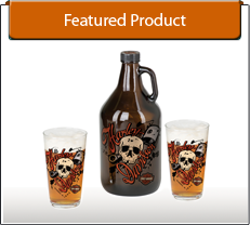 H-D™ Piston Skull Growler Set